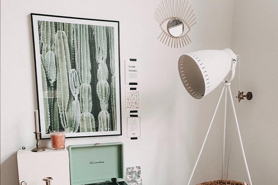 Ideas para decorar tu habitación con cuadros