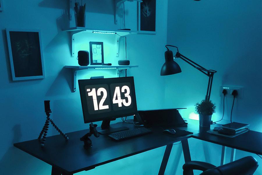i eres moderno, lo tuyo es tener una oficina sofisticada