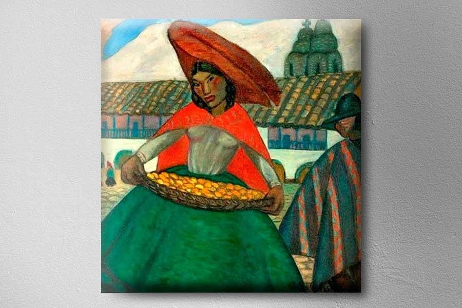 Frutera Ayacucheña de la artista peruana Julia Codesido
