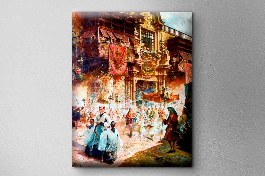 Pintura de Teófilo Castillo Guas