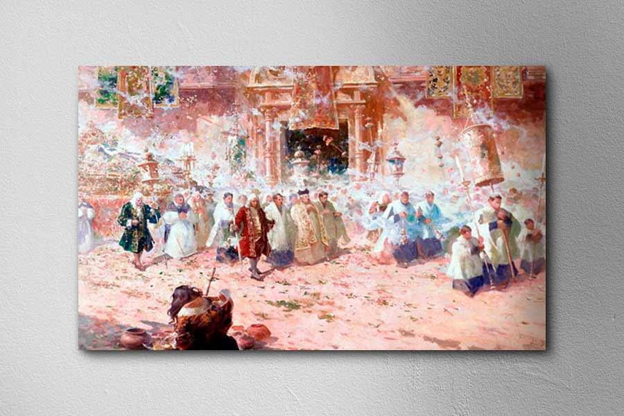 Obra del pintor Teófilo Castillo Guas