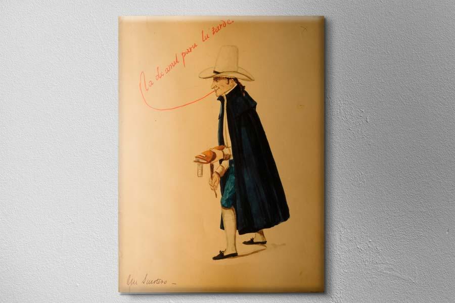 Un suertudo del artista peruano Pancho Fierro