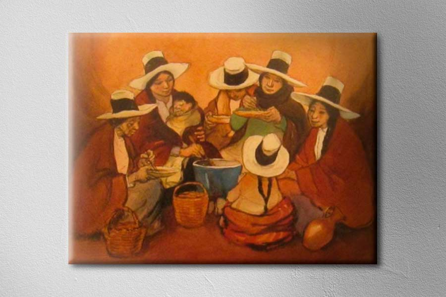 Cuadro del pintor Teodoro Núñez Ureta