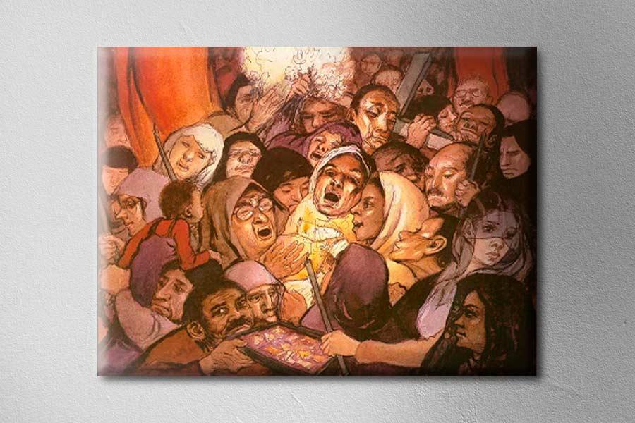 Pintura del peruano Teodoro Núñez Ureta