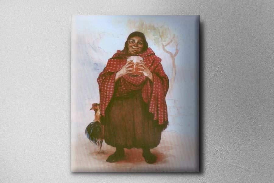 Obra del pintor peruano Teodoro Núñez Ureta