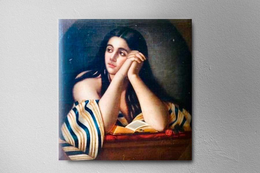 Retrato de Sara Oequendo Rebeca Oquendo